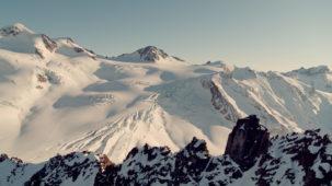 Wide revealer Pitztal glacier
