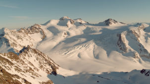 Wildspitze and Glacier super wide