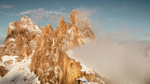 Seceda peaks close after first autumn snow