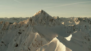 Reither Spitze, Seefeld, in morning sun