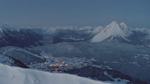 Seefeld lights at dawn
