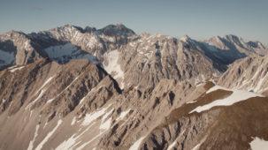Karwendel in late afternoon