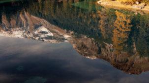 Obernberg reflection detail