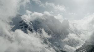 High Alpine mist