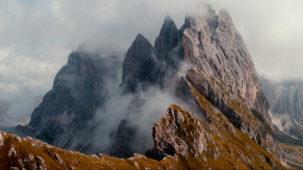 Seceda / Dolomites in mist 2