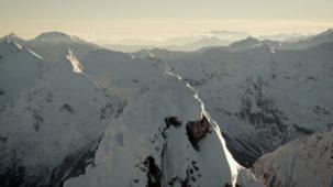 Summit cross and South Tirol