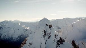 Summit orbit on the tribulaun ridge