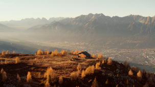 Innsbruck in late autumn sun
