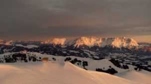 Sunrise over the Wilder Kaiser 1