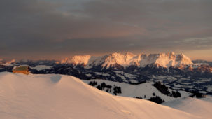 Sunrise over the Wilder Kaiser 2