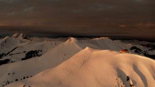 Winter morning sun Kirchberg
