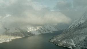 Achensee in the mist