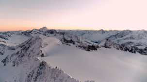 Dawn over the Oetztal Alps