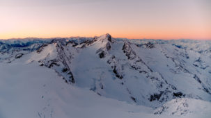 Dawn over the Oetztal Alps 1