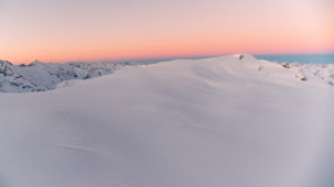 Gepatschferner Glacier at dawn 1