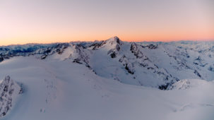Dawn over the Oetztal Alps 2