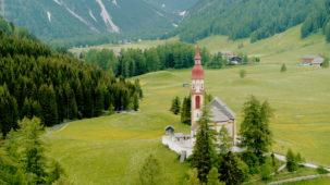 Nikholas Church Obernberg valley