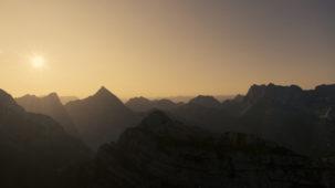 0202 First light over the Karwendel