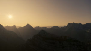 0202 First light over the Karwendel