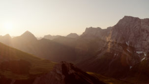 0203 Morning sun in the Karwendel