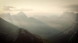 0204 Moning mist in the Karwendel