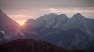 0208 Karwendel Sunset