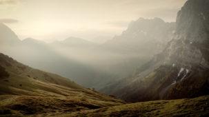 0210 Morning mist in the Karwendel