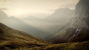 0210 Morning mist in the Karwendel