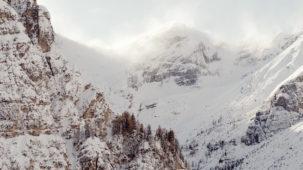 Storm on the peaks 1