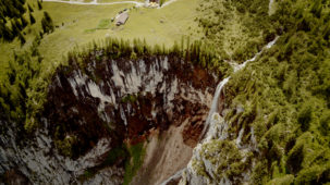Waterfall Seebensee 1