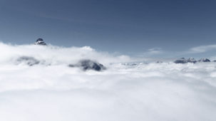 Over the fog in the Stubai