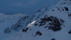 Mountaineers at dusk 2