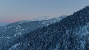 Osttirol at dusk