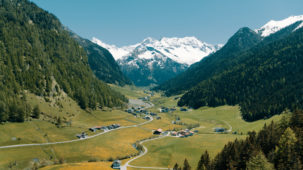 Early spring in the Vals Valley