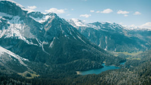Obernberg Lake wide